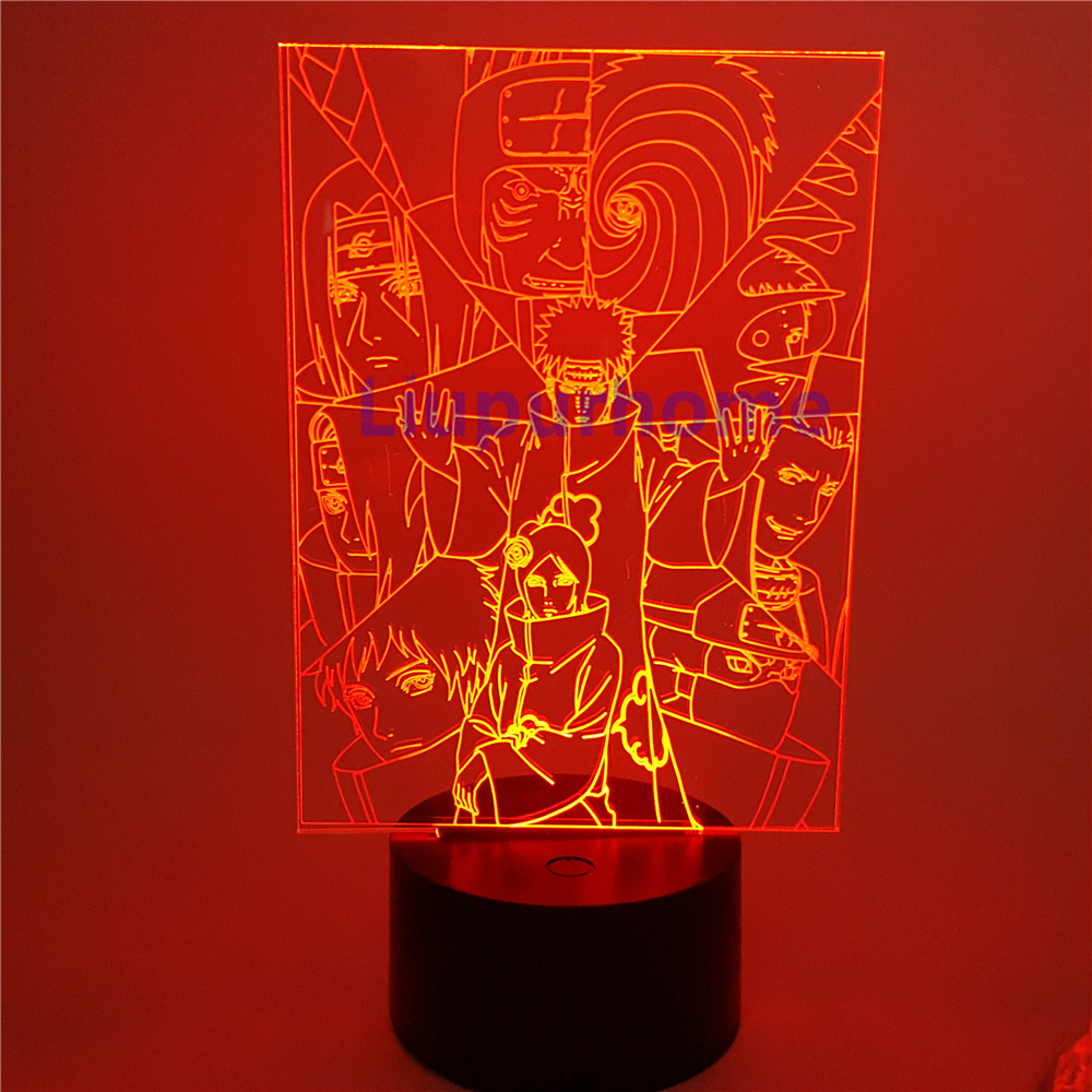 Marvel Hero Iron Man 3d Action Figure Night Light Led Vision Lamp 7 Colors Changing Bedoom Table Home Decor Baby Creative Gifts In Pain Led Lamps