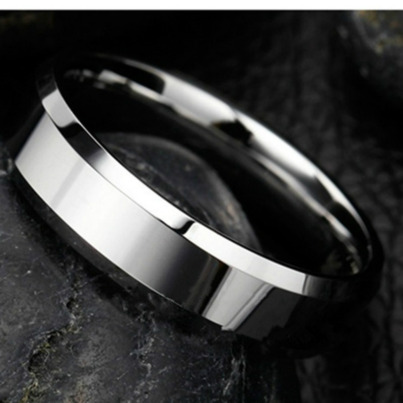 Rings For Women Stainless Steel Ring Silver Plated