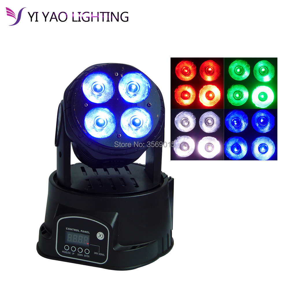 4X20W Mini LED DMX beam Spot Light Club DJ Stage Lighting Party Moving heads Light4X20W Mini LED DMX beam Spot Light Club DJ Stage Lighting Party Moving heads Light