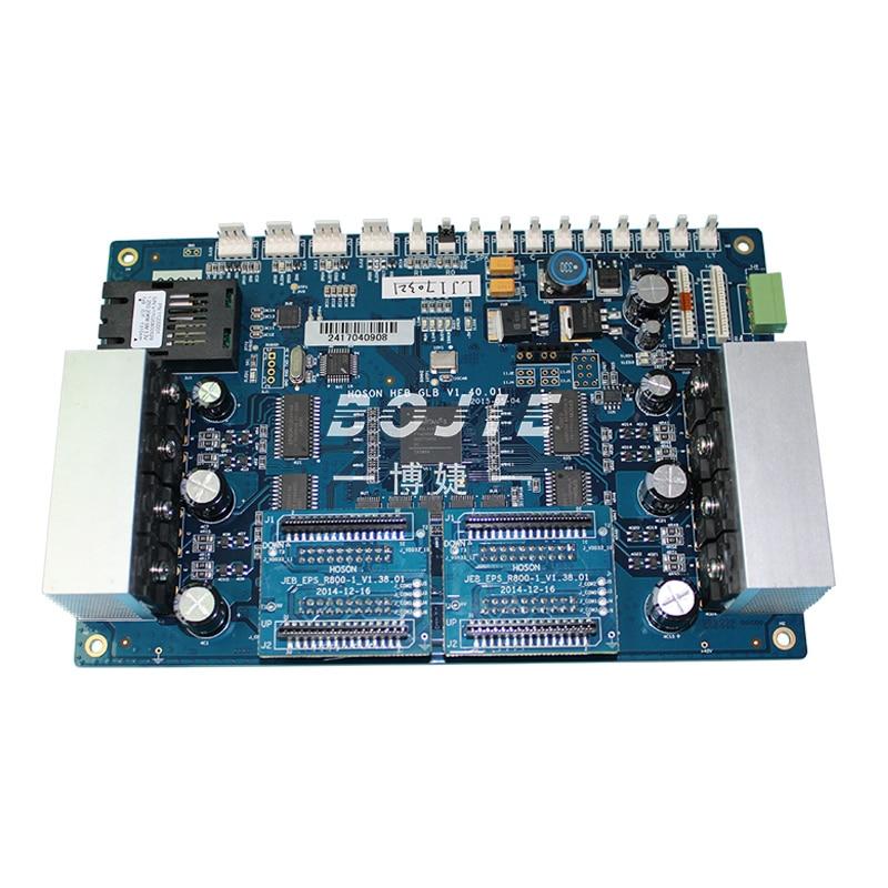 Inkjet printer Zhongye DX5 carriage board / printhead control driver print head circuit board for seiko print head zhongye printer 12h carriage board printhead board