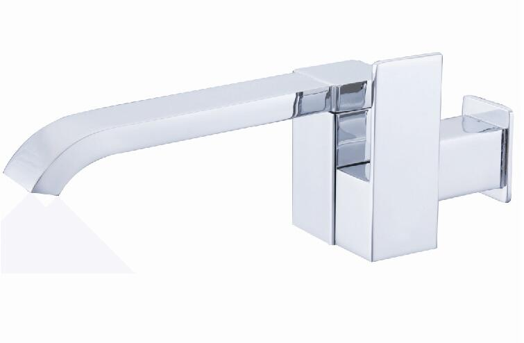 купить Wall Mounted Bath Waterfall Faucet torneira Single Cold Water Basin Tap Brass Mop the pool faucet 360vrotation to the water Tsui по цене 2205.37 рублей