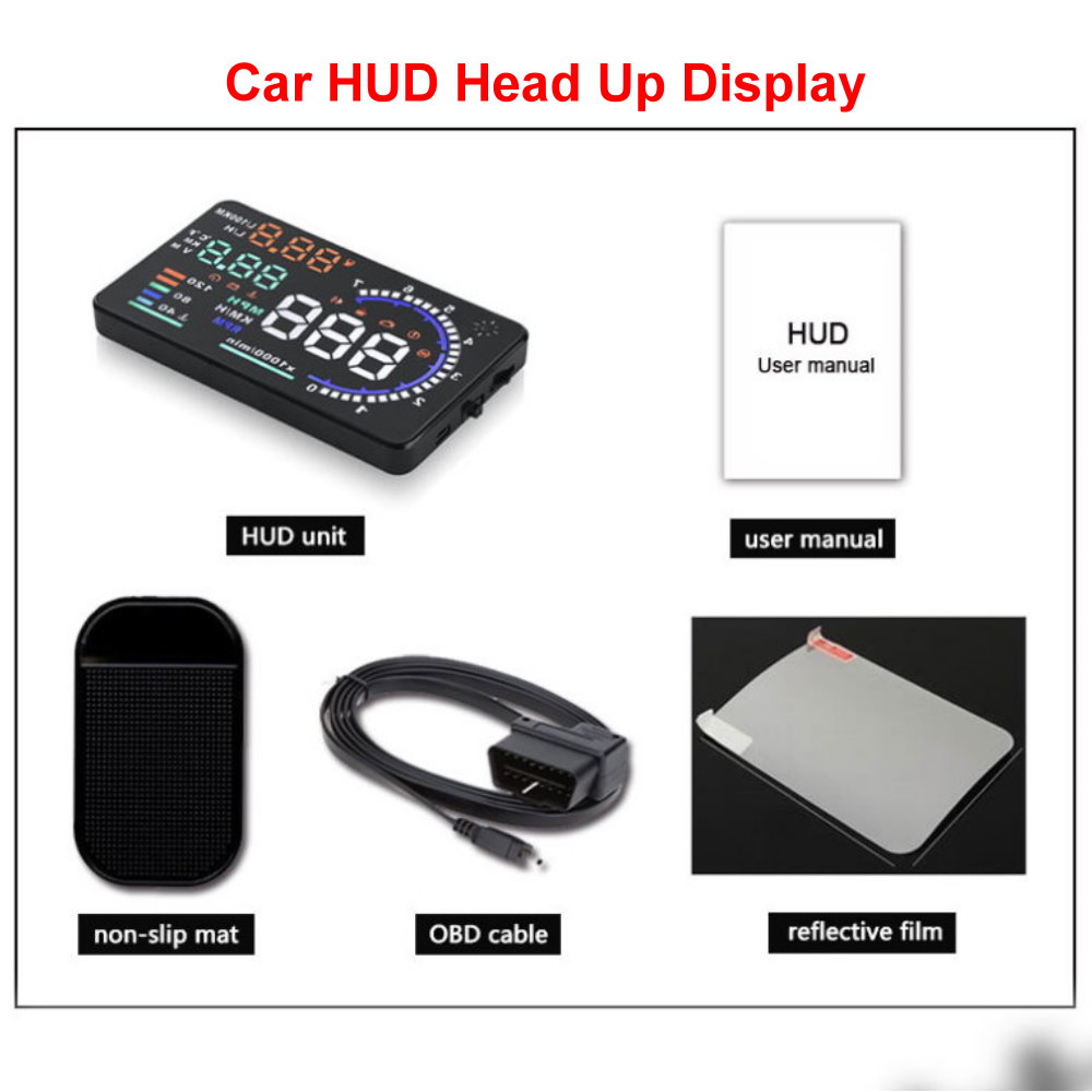 Liandlee For Audi A3 S3 RS3 2013-2018 Full Function OBD Car HUD Head Up Display Projector Windshield Safe Driving Screen