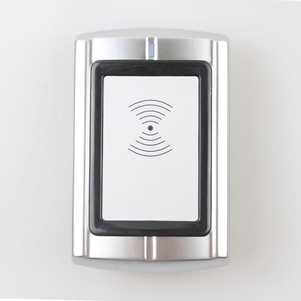 DIYSECUR Quality Waterproof Metal Wiegand 26 125KHz EM RFID ID Card Reader For Access Control System Kit R3-EM