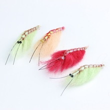 12pcs shrimp fly fishing lure wet dry Artificial trout fly fishing flies hooks freshwater saltwater flyfishing lures bait set