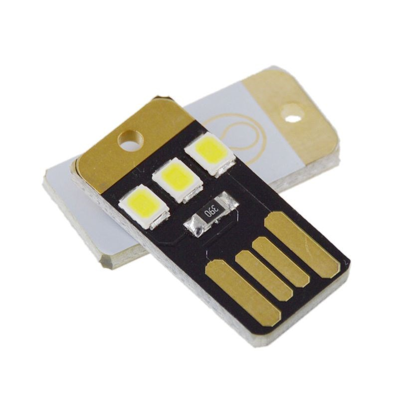5pcs Mini Super Bright USB Keyboard Light Notebook Computer Mobile Power Supply Chip LED Nightlight