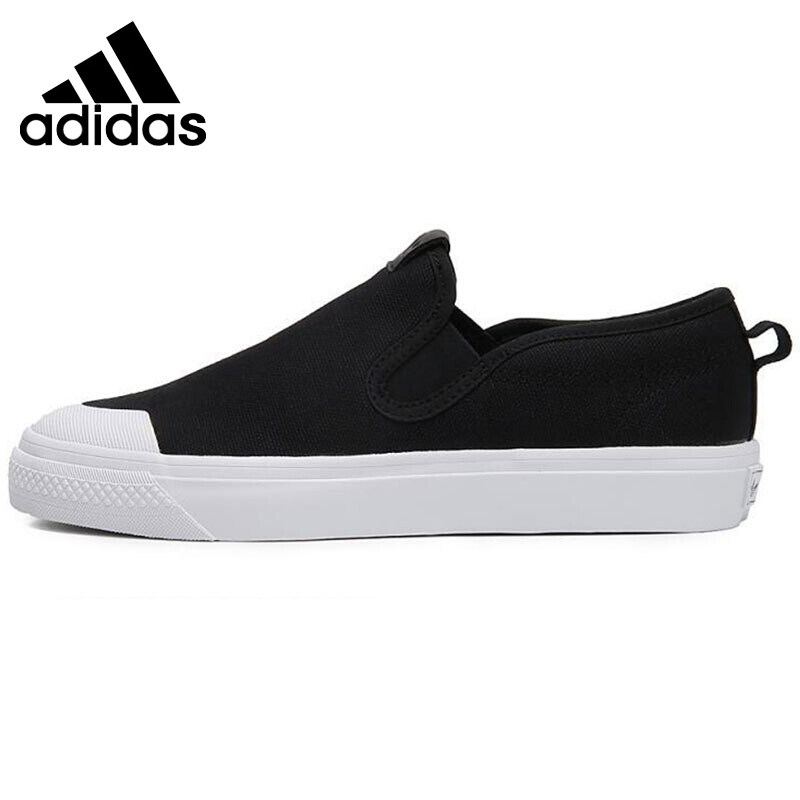Original Adidas Originals NIZZA SLIPON W Womens Skateboarding Shoes Sneakers Outdoor Sports Anti Slippery Light Weight LeisureOriginal Adidas Originals NIZZA SLIPON W Womens Skateboarding Shoes Sneakers Outdoor Sports Anti Slippery Light Weight Leisure