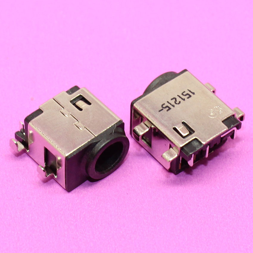 все цены на YuXi 100pcs/lot DC Power Jack Connector Power Port Plug Socket for Samsung NP300 NP300E4C 300E4C NP300E5A NP300V5A NP305E5A онлайн