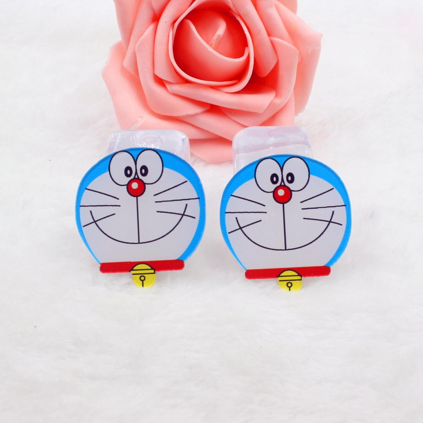 Kawaii cartoon flat back planar resin Doraemon Figurine Ballet Home decoration craft DIY phone hair accessories