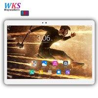 Original 10 zoll tablet pc Android 7.0 RAM 4 GB ROM 64 GB Dual-sim-karte wifi Bluetooth 1920*1200 IPS tabletten pc freies verschiffen 10,1