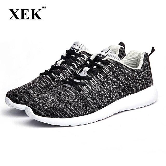 Xek Для мужчин кроссовки обувь Легкие кроссовки Обувь с дышащей сеткой спортивная обувь для бега обувь для ходьбы по легкой атлетике обувь cm03