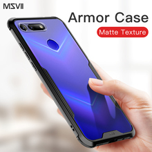 Msvii For Huawei P20 Pro Case Shockproof Armor Rubber Hard PC Back Cover P30 Mate 20 Honor View Shell Fundas