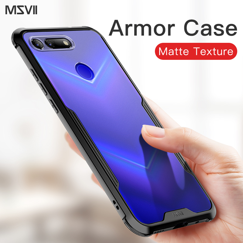 Msvii For Huawei P20 Pro Case Shockproof Armor Rubber Hard PC Back Cover For P30 Pro P30 Mate 20 Pro Honor View 20 Shell Fundas image
