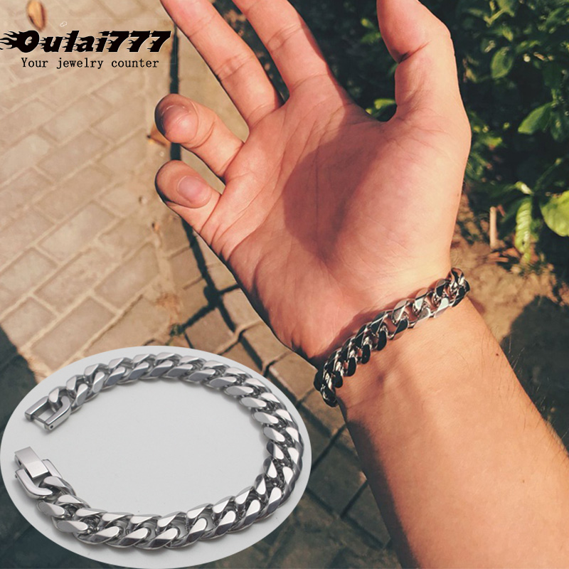 Oulai777 Bracelet Stainless...