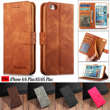 For iPhone6 Case Flip Magnetic Phone Cases On Hoesje iPhone 6 6S Plus Cases PU Leather Wallet Cover For iPhone 6 6S Apple Coque все цены