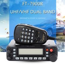 General Yaesu FT-7900R Car Mobile Radio Dual Band 10KM Two Way Radio Vehicle Base Station Radio Walkie Talkie Transceiver FT7900