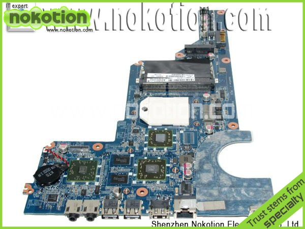 NOKOTION 638855-001 for HP G4 G6 G7 series  laptop motherboard  DA0R22MB6D0  Radeon HD 4250 DDR3 warranty 60 days 744009 501 744009 001 for hp probook 640 g1 650 g1 motherboard socket 947 hm87 ddr3l tested working