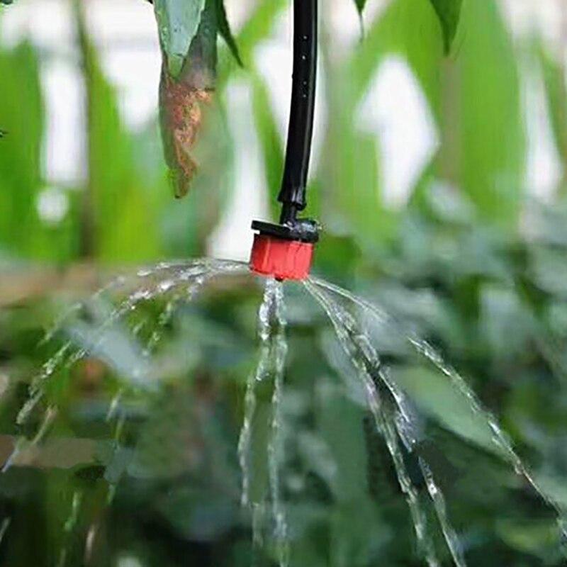 HTB1yhuTfMfH8KJjy1zcq6ATzpXaS 50 Pcs Adjustable Dripper Red Micro Drip Irrigation Watering Anti-clogging Emitter Garden Supplies for 1/4 inch Hose