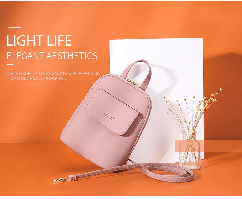 Multi-Function Small Backpack For Women