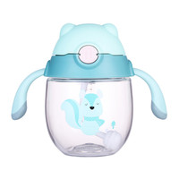 NEW 300ml Baby Water Bottle Infant Baby Cup Cute Creative Tritan Baby Feeding Bottle With Handle Safe Healthy Material Sippy Cup