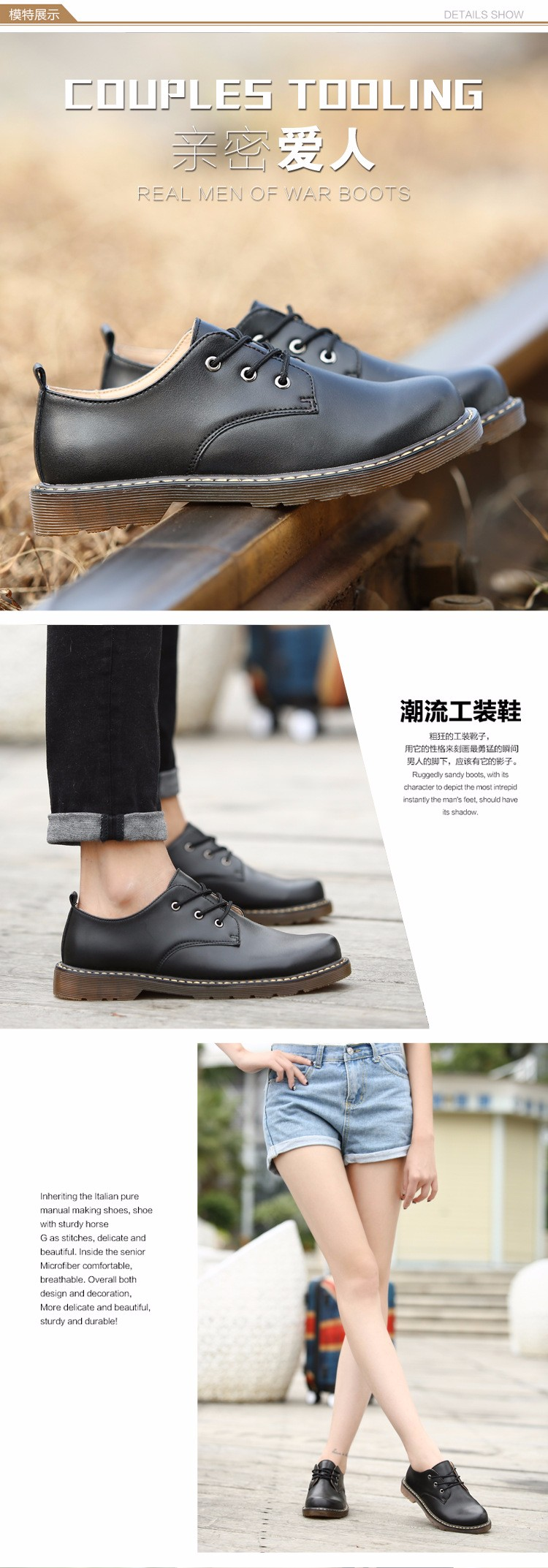 KUYUPP Fashion England Genuine Leather Shoes Women And Men Flats Oxfords Casual Lace Up Ladies Shoes Round Toe Men Loafers PX128 (25)