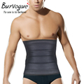 Burvogue Corset Men's Belt 3 Zipper Latex Corset Girdles Shapewear Slimming hot Shapers clothing compression underwear
