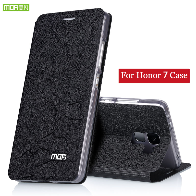 Huawei Honor 7 Case Flip Cover Leather Glitter Luxury Silicon Original For Huawei Honor7 Case Phone Screen Protector Tpu 5.2inch