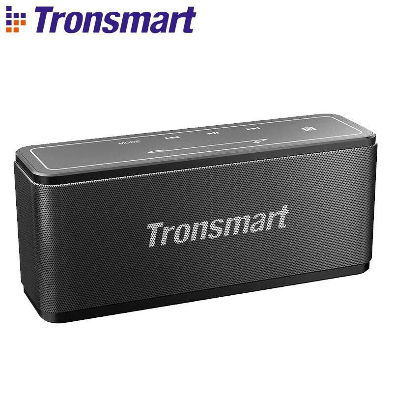 Tronsmart Élément Mega Bluetooth Haut-Parleur 40 w Sortie En Plein Air Portable Sans Fil Haut-parleurs 3D Digital Sound pour Téléphones Intelligents