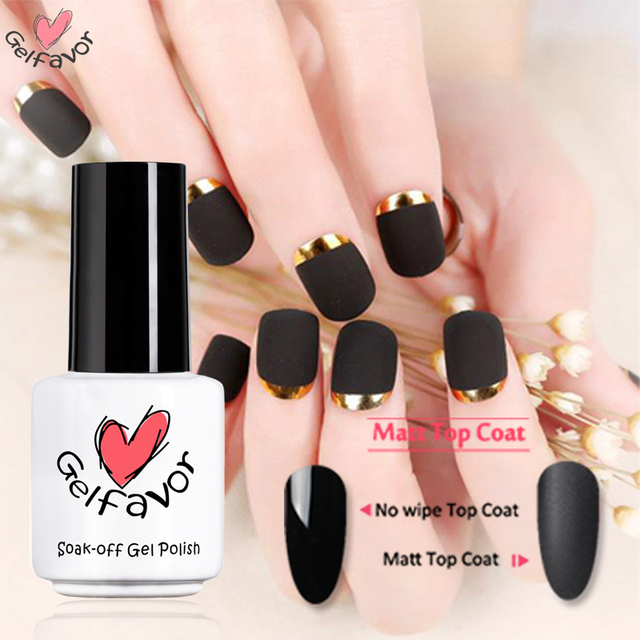 Gelfavor white bottle Matt Top Coat primer acrylic paint Gel Nail ...