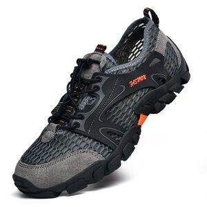 Image 3 - Mężczyźni buty górskie wodoodporne buty mężczyzn wspinaczka górska buty trekkingowe