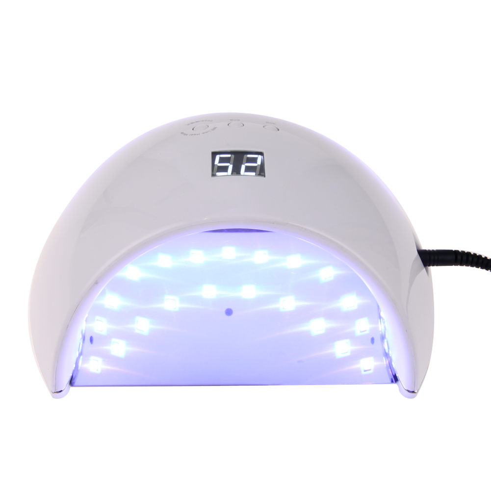 48W Professional UV LED Nail Lamp Nail Dryer Gel Polish Curing Light with Bottom 30s/60s Timer Nail Dryer Polish Machine new pro 48w nail lamp manicure dryer fit uv led builder gel all nail polish nail art tools sun5 professional machine