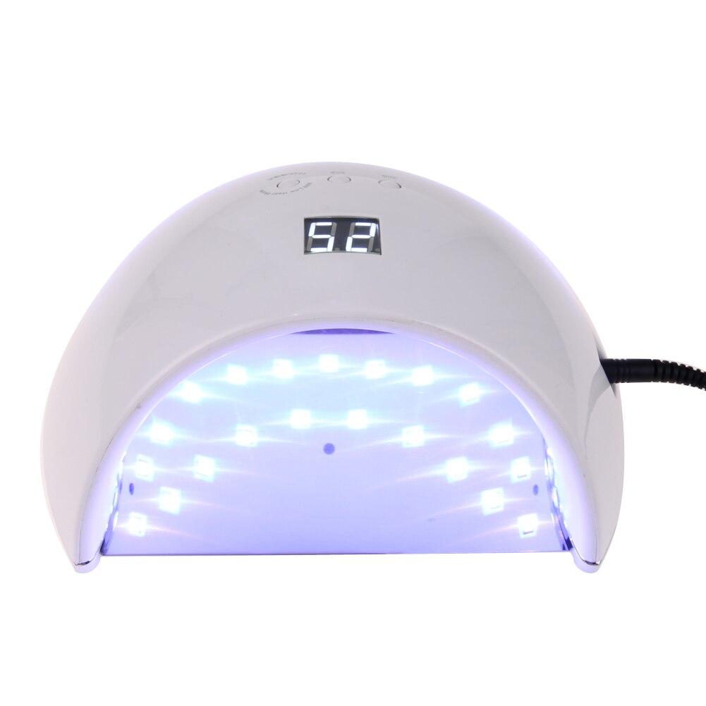 48W Professional UV LED Nail Lamp Nail Dryer Gel Polish Curing Light with Bottom 30s/60s Timer Nail Dryer Polish Machine