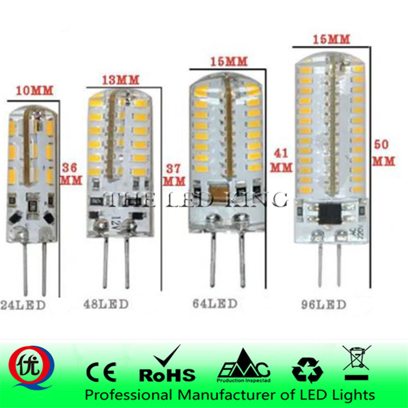 Intellective G4 Led Lamp 3w 5w 9w 12w Mini Led Bulb Ac 220v Dc 12v Smd3014 Spotlight Chandelier High Quality Lighting Replace Halogen Lamps Limpid In Sight Light Bulbs Led Bulbs & Tubes