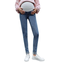 Size 4XL maternity jeans cotton Slimming elastic waist for pregnant women ropa embarazada womens clothes