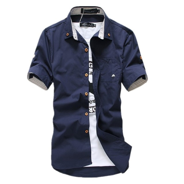 1a03c12cc65 2017 New Arrived Men s Casual Short Sleeve Shirts