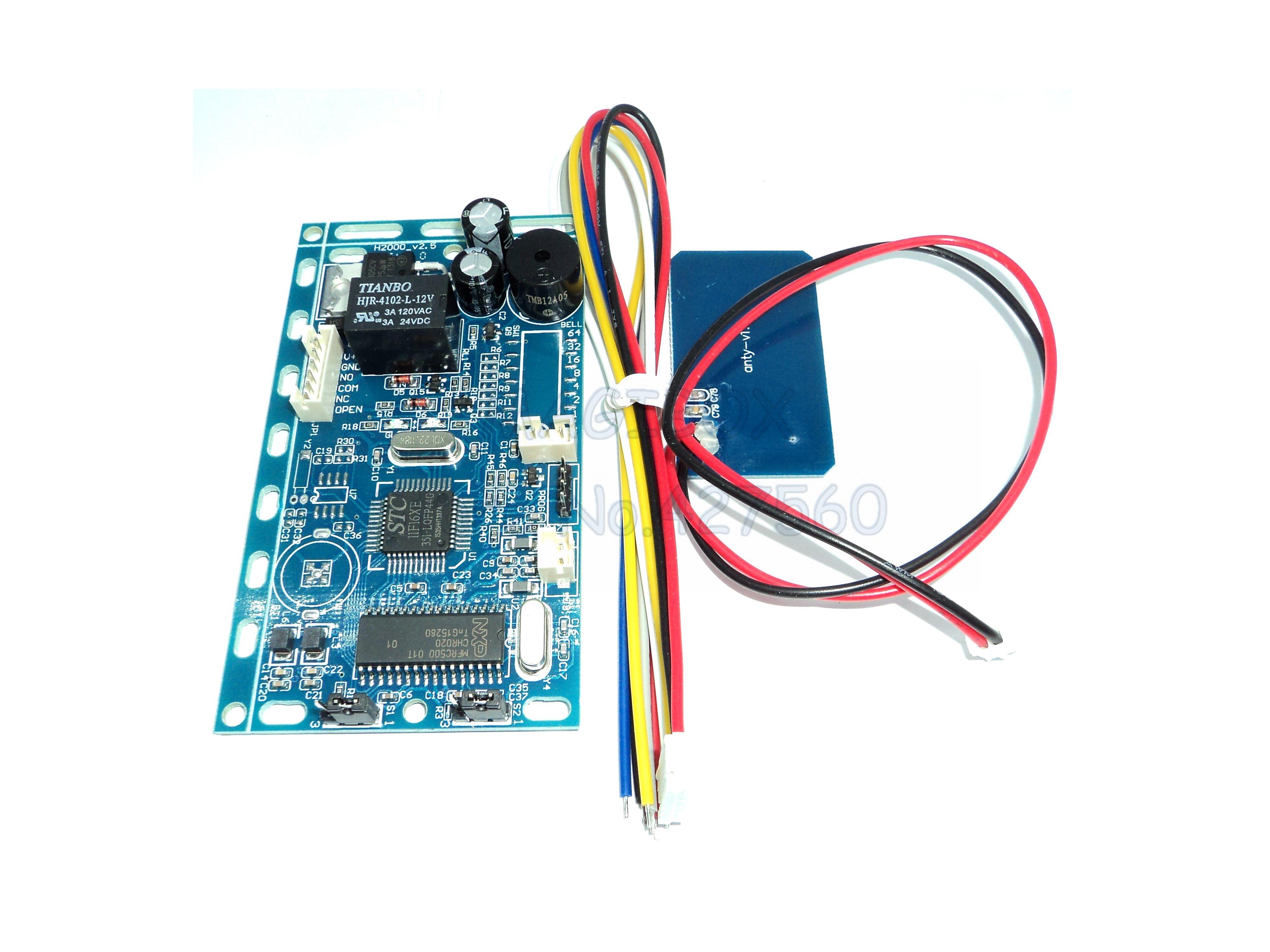 RFID Intercom Embedded Access Control 13.56mhz IC Module Controller 2000 User