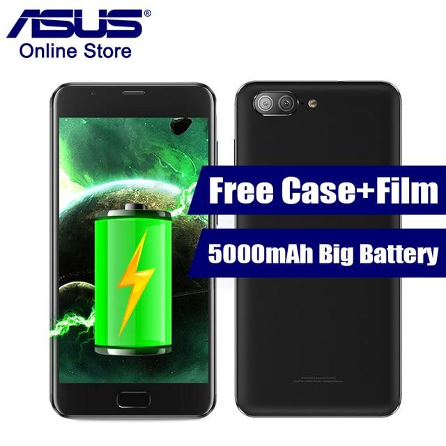 Asus Zenfone 4 максимум плюс zc550tl x015d 5000 мАч большой Батарея 5.5 дюймов Octa Core мобильный телефон Android 7.0 mt6750 двойной задней камерами