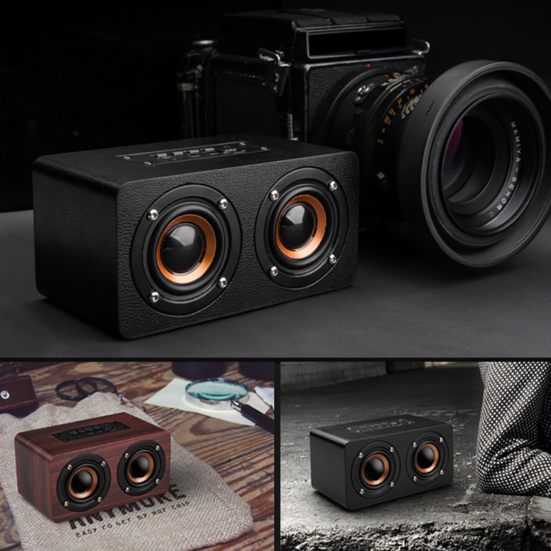 Image 5 - TOPROAD Portable 10W Bluetooth Speaker Wireless 3D Stero Home Theater Desktop Speakers caixa de som Support FM Radio Aux TF-in Portable Speakers from Consumer Electronics