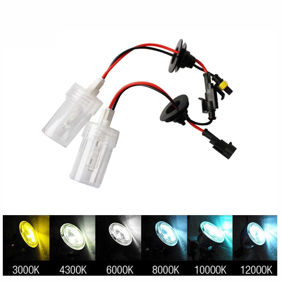 2Pcs 100W headlight HID Xenon lamps 9005 9006 h7 h8 h1 H3 auto xenon bulbs 12V
