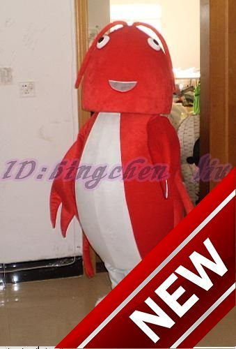 2018 New Red Locusts Cartoon Character Costume Cosplay Mascot Custom Products Custom Free Shipping