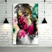 Free Shipping Hand Painted Abstract Marilyn Monroe Room Decorations Marilyn Monroe Oil Painting Decor On Canvas Wholesale