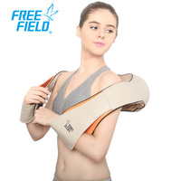 Free Field U Shape Eletrical Infrared Heating Neck Massage Shoulder Shiatsu Kneading Simulated Back Massage Machine