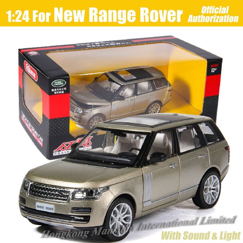 1 24 Scale Luxury Suv Diecast Alloy Metal Car Model For New Range