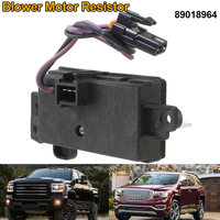 1Pc New Blower Motor Resistor Front for GMC 4P1516 89018964 2017 XR657