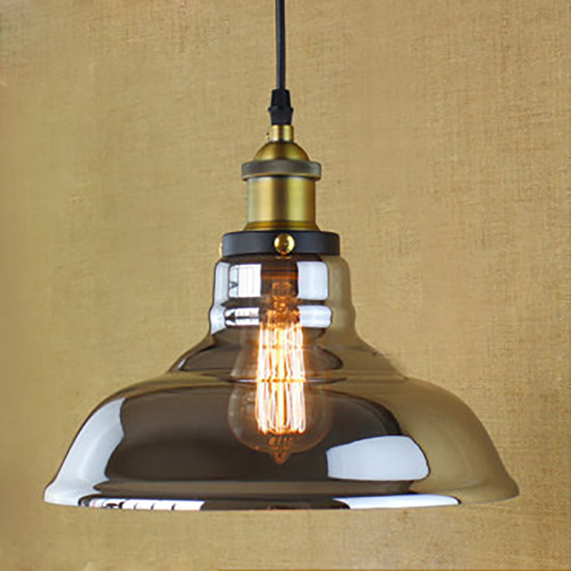 Vintage loft hängen Glas lampenschirm Anhänger Lampen moderne ...