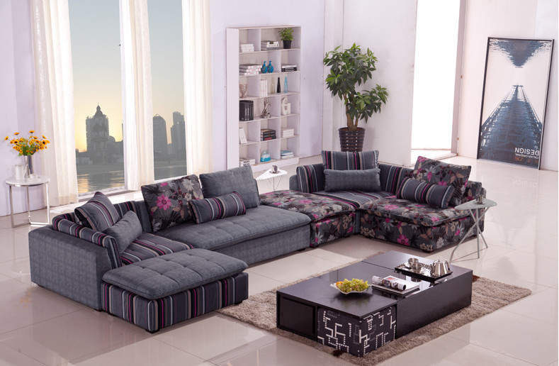 U-BEST European living room corner sofa The combination of residential furniture шезлонг yet the furniture sofa