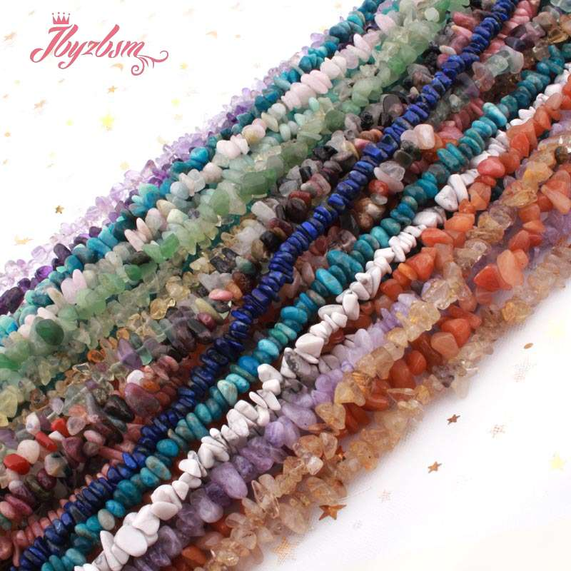 Natural Stone Beads Chip Beads Irregular Shape For Jewelry Making DIY Necklace Bracelet Earring Loose 4-5x5-7mm Strand 15