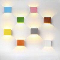 LED Wall Lamps 5W AC 85 240V Modern Bedroom Wall Lights Indoor Dinning Room Corridor Lighting