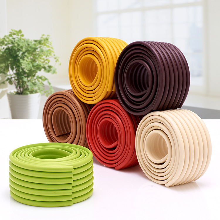 Baby Safety Products Baby Crash Bar Thickening Crash Bar Glass Coffee Table Corner Protector Child Protection Strip 16 Colors