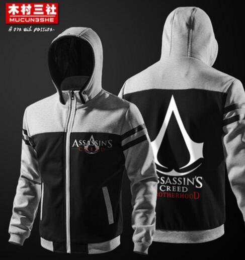 63a999d8 (HD202)Autumn Winter Game Hoodie Men Black Cosplay Sweatshirt Costume  Fleece Lined Fashion Quality Mens Hoodies Jacket