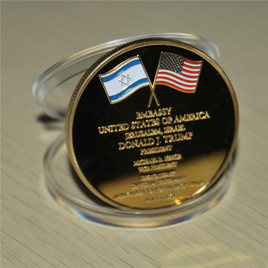 United States Embassy Jerusalem Israel Challenge Coin - Dedicated May 14, 2018 (42)